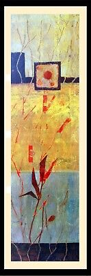 Overlapping Dreams I (Modern Abstract Fine Art Wall Decor Framed)