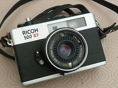 RICOH 500 RF COMPACT with Rare WINDER