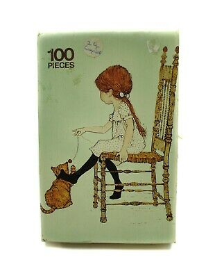 """Vintage """"HOLLY HOBBIE"""" 100 pieces Jigsaw Puzzle - By Arrow Games - From 1978"""