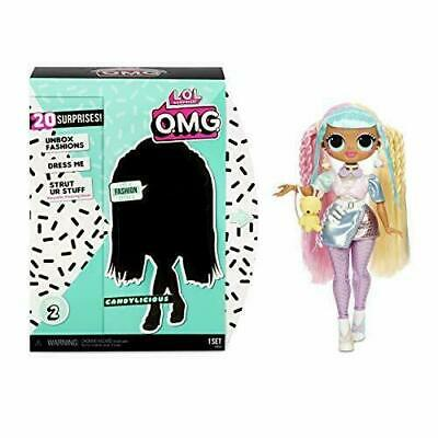 LOL Surprise OMG SERIES 2 Doll CANDYLICIOUS Fashion Doll w/20 Surprises NEW #