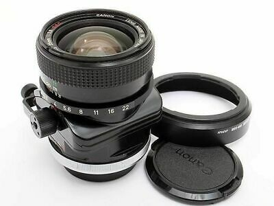 Canon TS 35mm F2.8 SSC Shift Lens Wide Angle FD Mount Excellent from Japan F/S