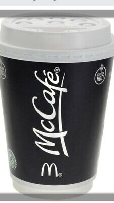 300 X McDonalds Maccies Coffee Bean Loyalty Stickers ULTRAVIOLET Free Postage!.