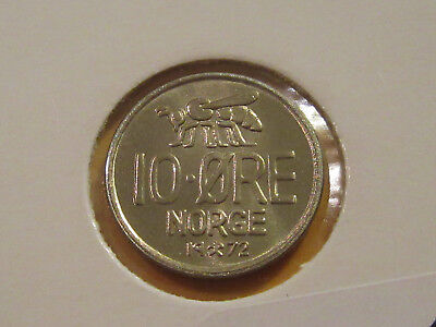 25 ORE 16 Uncommon Coins FREE SHIP BIRD SERIES Vintage Norway Coin Lot