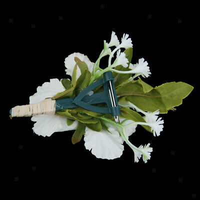 100x Wedding Corsage Clips for Weddings Buttonhole Flowers Corsage Pins DIY