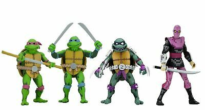 "Teenage Mutant Ninja Turtles: Turtles in Time 7"" Scale Figures Series 1 – Bundle"