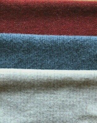 """HAND DYED RUG HOOKING WOOL Mill-Dyed APPLIQUE """"RED**WHITE**BLUE # FIVE"""""""