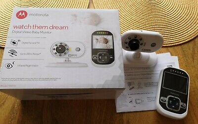Motorola baby monitor with camera and Audio Two Way portable, Model MBP26