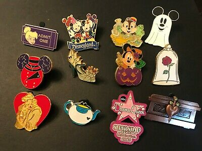 12  Disney Themed Trading  Pins Lot 3 WE COMBINE SHIPPING!!!!