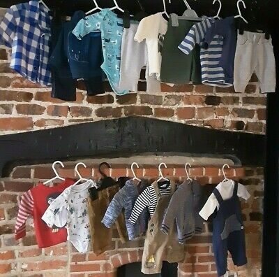 Baby Boys Clothes Bundle Newborn First size , mix & match outfits Next M&S