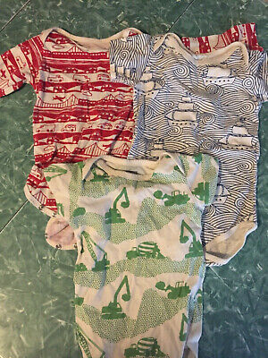 Lot Of 3 Winter Water Factory One Piece Sizes 3-12 Months