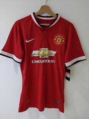 Brand New Manchester United 14/15 Home Jersey Shirt Di Maria 7 Large L