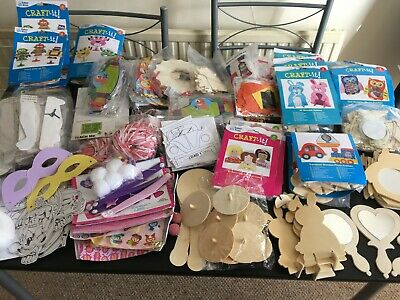 Large joblot/ bundle of Kids Crafts, craft kits