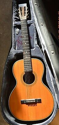 1930 Larson Brothers Maurer Parlor guitar ...(case is  from a dreadnought)