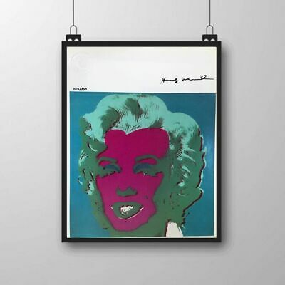 Andy Warhol - Marilyn Monroe - Original Hand Signed Print with COA