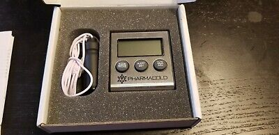 Traceable Refrigerator Vaccine Min Max Thermometer with Alarm