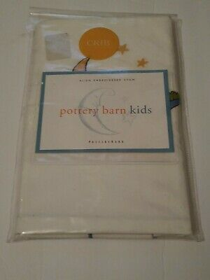 Pottery Barn Kids Pillow Sham Crib Size Alien