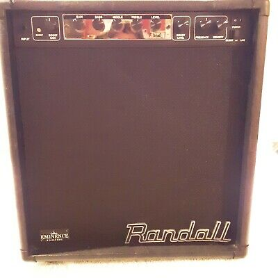 Randall RM 20 Guitar Combo Amp with Blackface Module