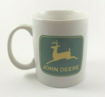 Gibson John Deere Coffee Mug White and Green