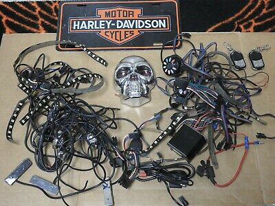 Skull Tail Light For Harley Davidson