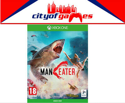 Maneater Day 1 Edition Xbox One Game Brand New In Stock