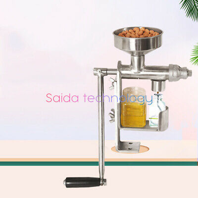 Manual Oil Press Machine Household Oil Extractor Expeller Seeds Oil Presser