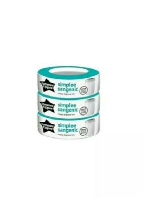 Tommee Tippee Simplee Sangenic Refills, Pack of 3 - NEW