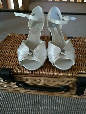 Joanna Hope Evening/Wedding Shoes UK Size 7 Ivory