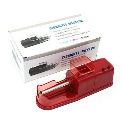 1pc Red Electric Easy Automatic Cigarette Rolling Machine Injector with Function