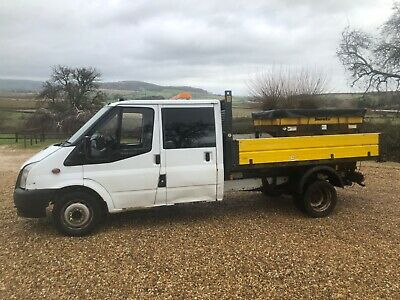 Ford Transit Double Cab Dropside Gritter 115 Bhp T350L Rwd Spares Or Repair