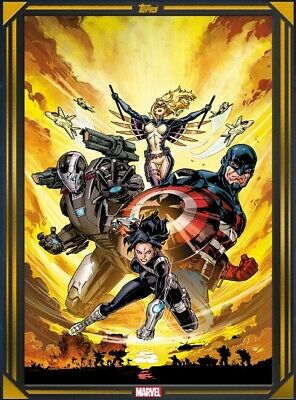 Force Works #1-Ncbd Gold Feb 26-New Comic Book Day-Topps Marvel Collect Digital
