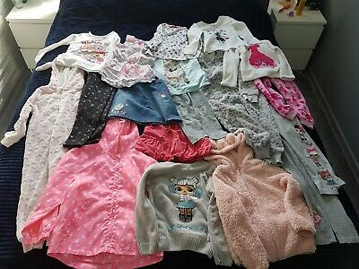 Girls clothes bundle age 5-6 years.