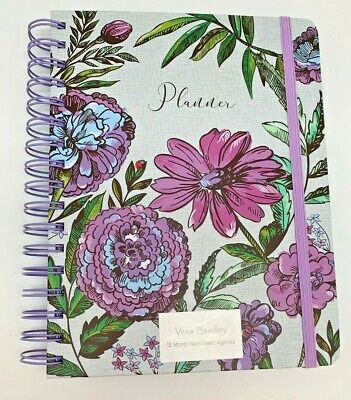 Non-dated 12 Month Planner in Lavender Meadow by Vera Bradley To Do List