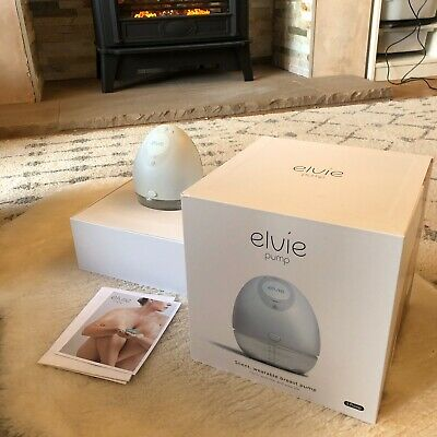 Elvie Single Electric Smart Breast Pump Unwanted Gift Box Accessories Receipt