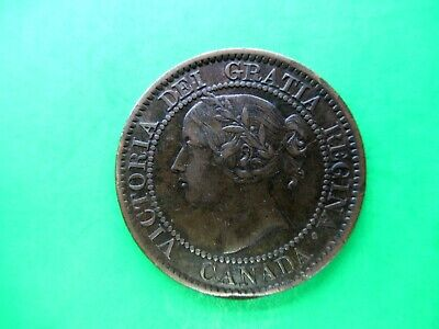 Canada 1 cent 1859 EF N9 DP2. High 9. D letters. Rare!