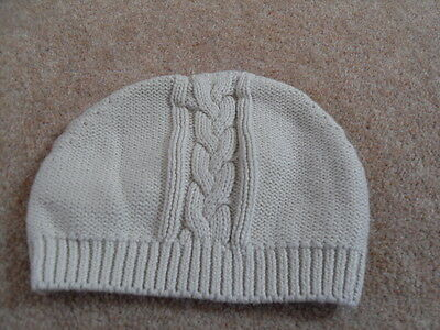 Beige Hat from Miniclub at Boots.  Size 3-6 months