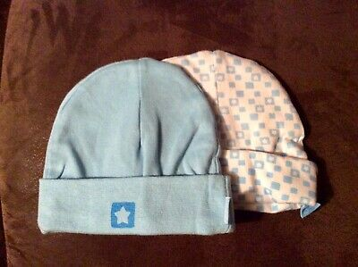 Baby Boys Soft Beanie Blue Hats