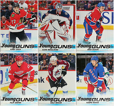 U-Pick 2019-20 Young Guns Rookie Cards RC Upper Deck Series One & Two