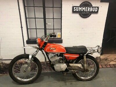 Yamaha CT1 175 1969 Restoration Project Barn Find Spares or Repair Trail