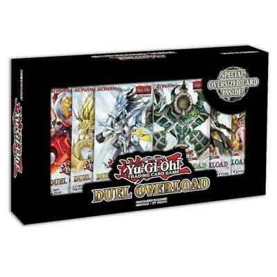 Yugioh TCG Duel Overload Box Set 1st Edition - 6 booster packs Ships on 3/20/20