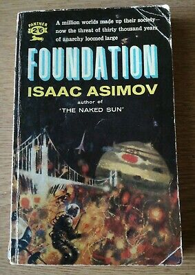 FOUNDATION. Isaac Asimov. Panther Science fiction Paperback. 1962 Vintage Book