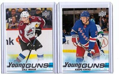2019-20 Upper Deck Young Guns - you pick - Kakko Makar Zadina Suzuki +