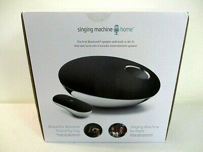 Singing Machine Smc Home Wifi & Bluetooth Home Karaoke System Unit =