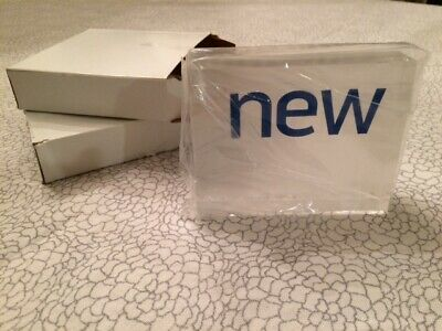 """Store Display Fixtures 2 ACRYLIC BLOCK STYLE SIGNS say """"new"""" Great for New Item!"""