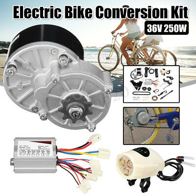 """36V 250W Electric Bike Conversion Motor Controller Kit For 22-28"""" Common"""