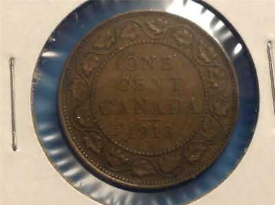 1913 - Large Cent -  Scroll down for all images.