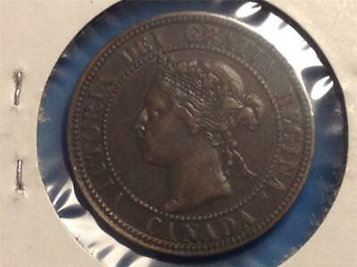 1898'H' - Large Cent -  Scroll down for all images.