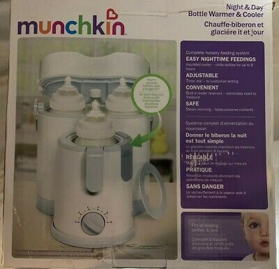 Munchkin Night and Day Bottle Warmer/Cooler New In Box