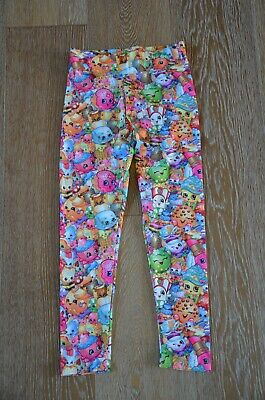 MOOSE Girls Shopkins Leggings Size 8 NWOT