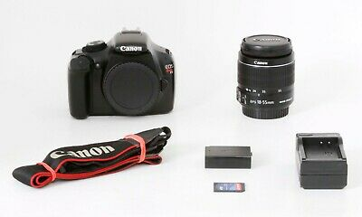 Canon EOS Rebel T3 12.2MP DSLR Camera, 18-55 F3.5-5.6 IS II, Clean, Free Ship #1