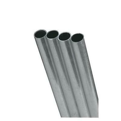 K&S Precision Metals 83062 Round Aluminum Tube, 5/16 OD x 0.049 Wall Thickn...